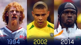 The Most Memorable World Cup Hairstyles Of All Time