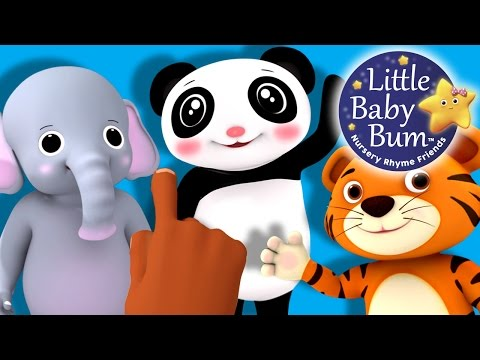 Eeny Meeny Miny Moe | Nursery Rhymes | By LittleBabyBum!