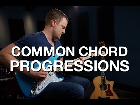 Common Chord Progressions - Rhythm Guitar Lesson #7