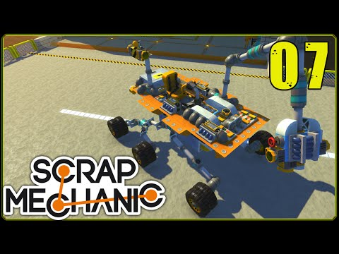 Scrap Mechanic || Scrappy Racers #7 | Mars Nasa Rover Racer!