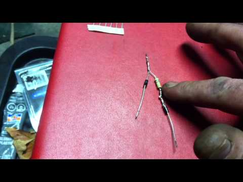 How to make an LED bulb or strip into a dual intensity motorcycle brake/tail light