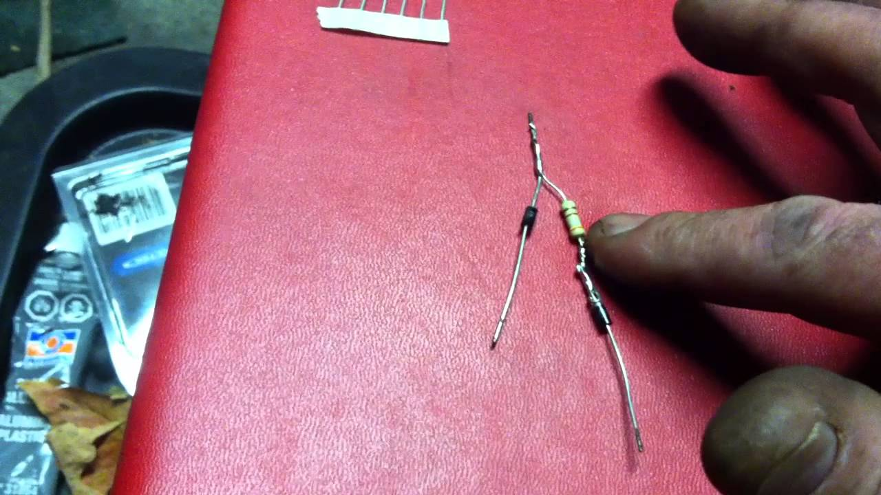 medium resolution of how to make an led bulb or strip into a dual intensity motorcycle brake tail light youtube