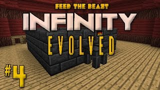minecraft ftb infinity evolved ep 4 tinkers construct time