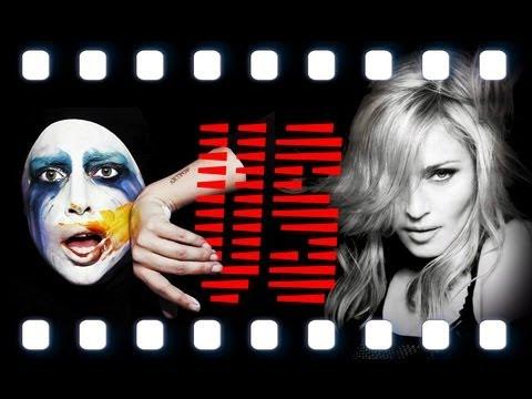 Lady Gaga VS Madonna | Applause Gone Wild - MashUp | Video