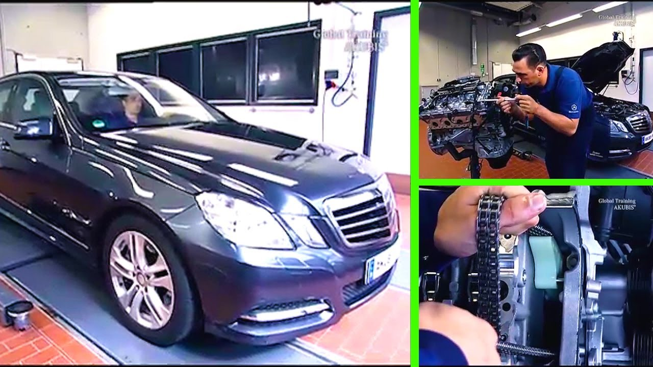 Mercedes Benz E Class Replace Timing Chain Repairs