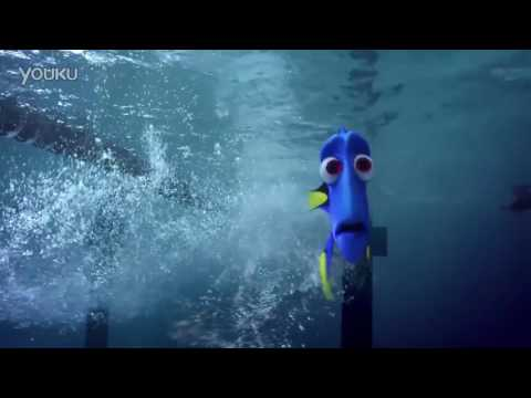 Chinese Olympic swimmer stars in 'Finding Dory' ad
