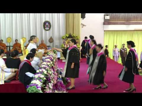 เทปบันทึกภาพพิธีพระราชทานปริญญาบัตร มหาวิทยาลัยราชภัฏจันทรเกษม ประจำปี พ.ศ. 2557 (ภาคเช้า)