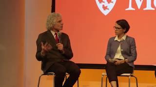 Steven Pinker in conversation with McGill professor Jennifer Welsh