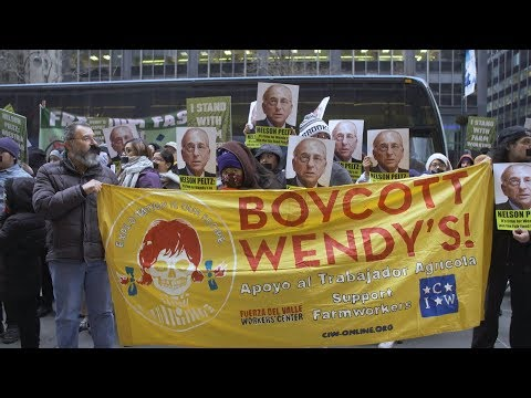 Farmworkers Bring Human Rights Fight to Wendy's Doorstep, Fasting & Calling for Boycott over Abuses