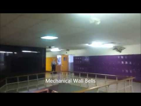 Spring 2012: Three Different bells ringing at Burges High School El Paso, TX