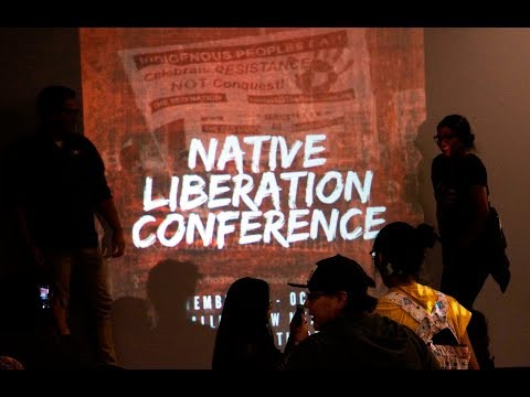 Native Liberation Conference - Fracking in Eastern Navajo PART 1 - Dine/Pueblo Youth Alliance