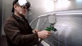 Смотреть видео видео как покрасить автомобиль