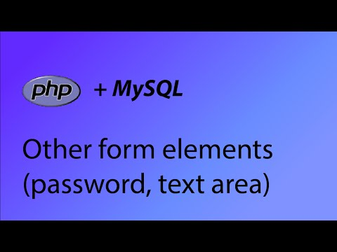 PHP & MySQL Tutorial 40