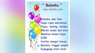 Lagu anak-anak (balon ku)