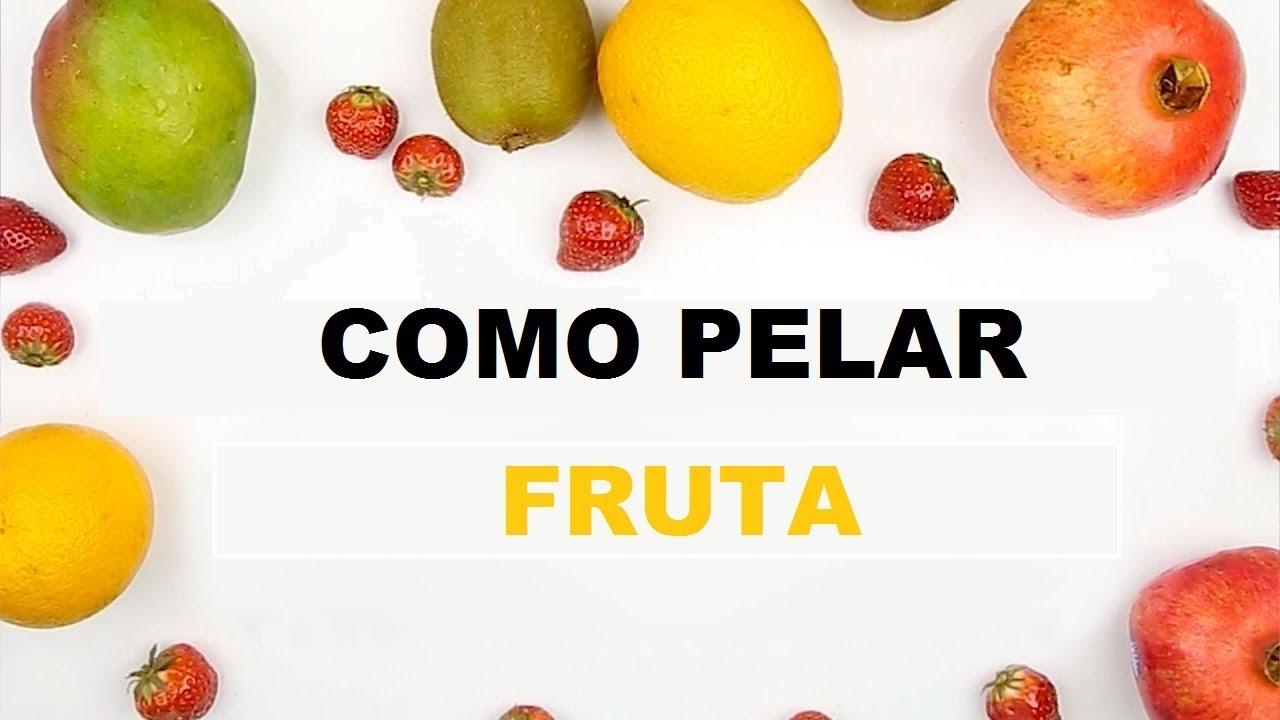 C mo pelar la fruta de la manera correcta ideas en 5 for Ideas en cinco minutos