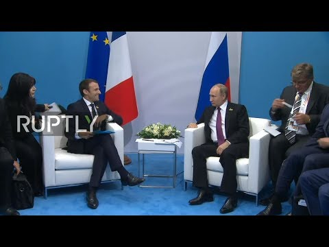 LIVE: Putin and Macron meet on sidelines of G20 Summit
