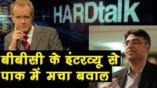 Pak के वित्तमंत्री के इंटरव्यू से हटा Jadhav का नाम, पाक में मच गया बवाल