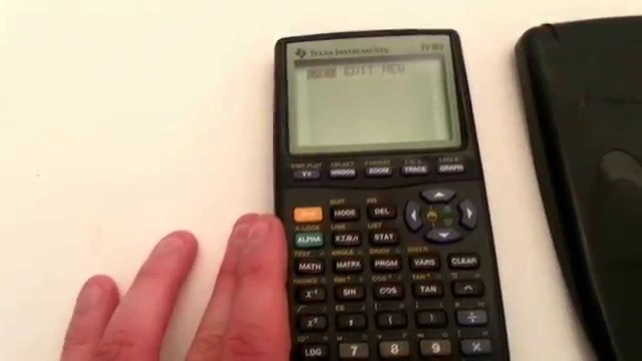 Texas Instruments TI 83 Graphing Calculator Tested New Batteries Ebay Showcase