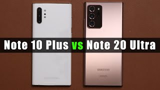 Samsung Galaxy Note 10 Plus vs Note 20 Ultra - Full Comparison