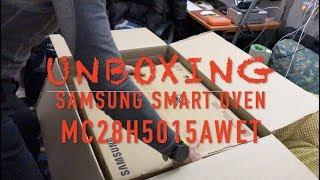Samsung MC28H5015AW/ET forno Microonde Combinato - UNBOXING e primo utilizzo