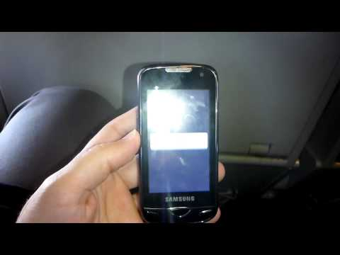Samsung GT-B7722 - Restart alone