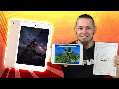 150€ Xiaomi Mi Pad 3 Alternative 📱 ALFAWISE TAB Review Technik German Deutsch
