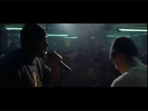 Bonus Rap Battle  Eminem vs Marvwon 8 Mile