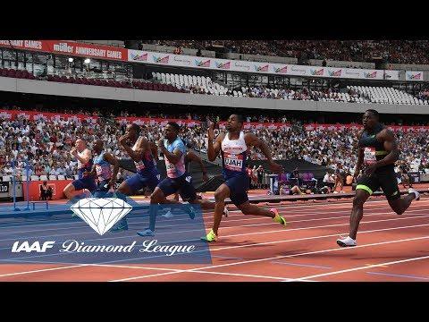 Men's Sprint and Hurdles - Diamond League Champions - IAAF Diamond League 2017