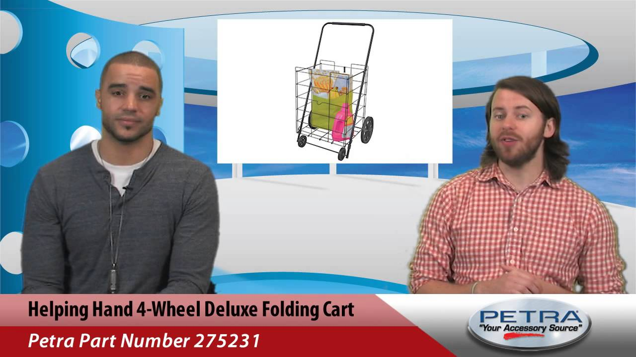 d2682e23fc25 Helping Hand 4-Wheel Deluxe Folding Cart