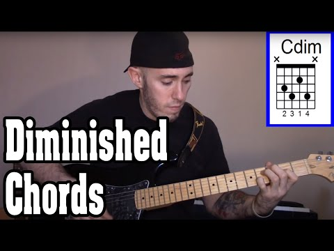 How to Use Diminished Chords in a Song or Chord Progression