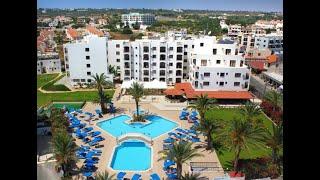 Кипр Протарас июль 2021 Отель Сигал Seagull Экспресс обзор номера и лобби прогулка вдоль моря