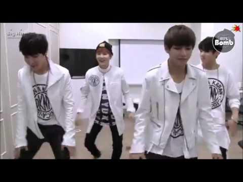 BTS Ah yeah - Exid