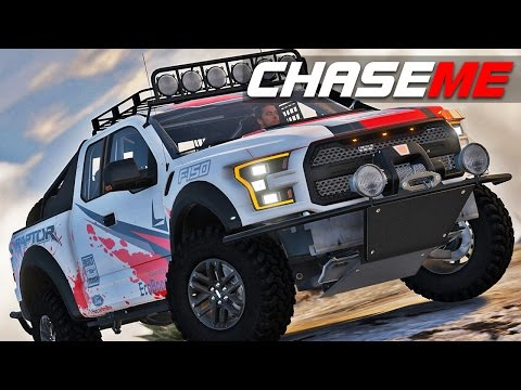 Chase Me E09 - 2017 Ford Raptor Race Truck Off-Road Pursuits