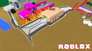 Lumber Tycoon 2 (Building a One Unit Sawmill Machine) ROBLOX