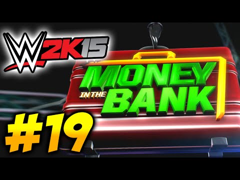 "WWE 2K15 Universe Mode #19 ""MONEY IN THE BANK PPV!!!"" - European Title & Randy Orton vs Cesaro!"