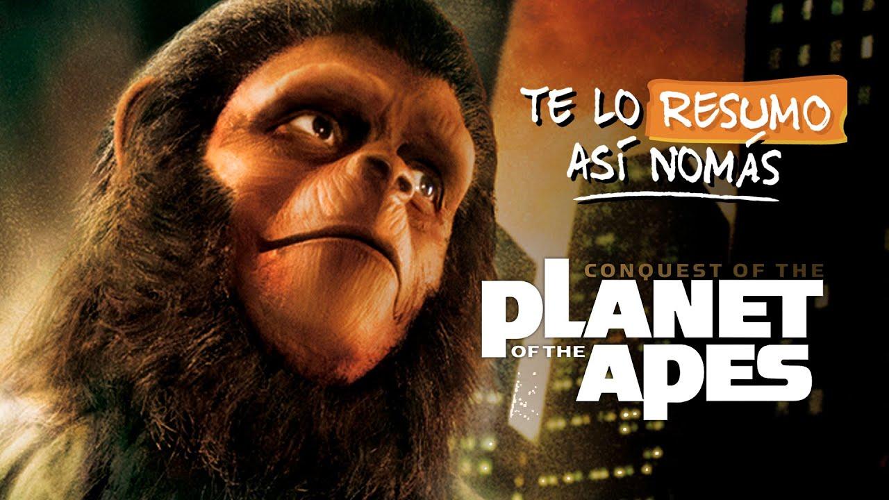 La Saga de El Planeta de los Simios | #TeLoResumoAsiNomas 207