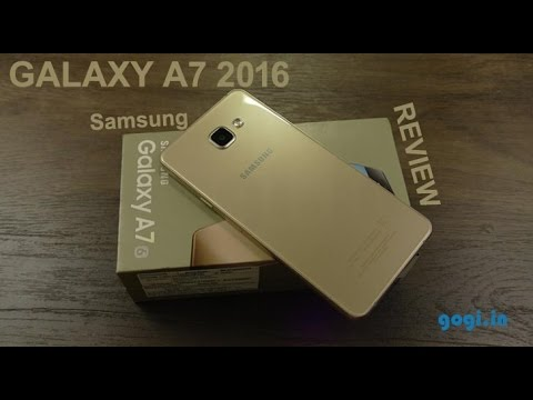 Samsung Galaxy A7 2016 review, benchmark, battery and more