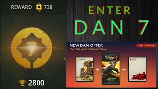 Shadow Fight 3 enter Dan 7 | open Dan 7 offer