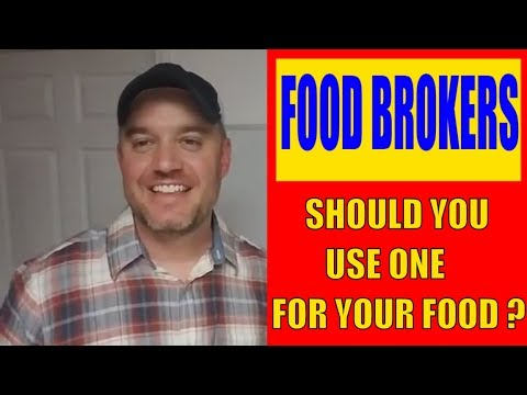 What is a Food Broker and are they right for you Selling Food Online or Retail