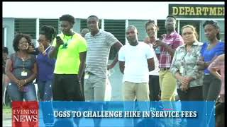 UGSS TO CHALLENGE HIKE IN SERVICE FEES 2/7/2018