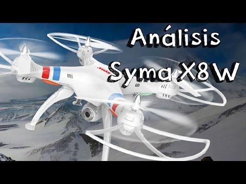 ANALISIS SYMA X8W WIFI EN ESPAÑOL: Review en español de drones baratos calidad precio