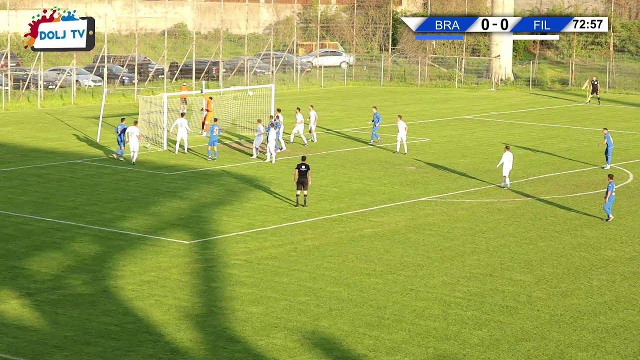 Gol direct din corner la Corona Brasov - CSO Filiasi 07 05 2021