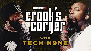 Crooked I & Tech N9ne Talk Strange Music & TDE, Logic & Joyner Lucas, & More | Crooks Corner YouTube Videos