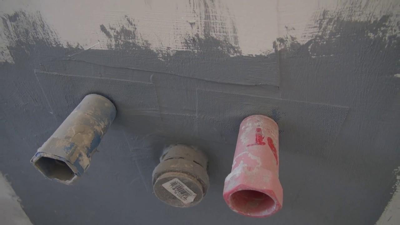 Wandscheiben In Dusche Hinter Trockenbau Installieren