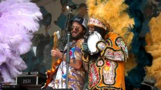 Big Chief Monk Boudreaux & the Golden Eagles Mardi Gras Indians 1