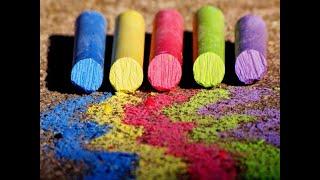 #5 Как сделать цветные мелки в домашних условиях
