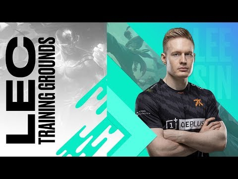 #LEC Training Grounds: Broxah's Lee Sin