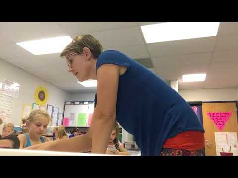 """Hands-on Activity"" Math Specialist Classroom 1st Grade Group"