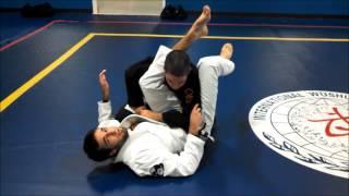 Brazilian jiu jitsu open guard pass and closed guard combos