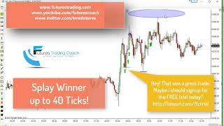 120617 -- Daily Market Review ES CL GC NQ - Live Futures Trading Call Room
